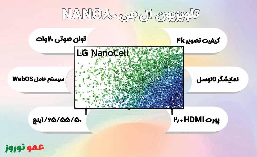 معرفی تلویزیون NANO80