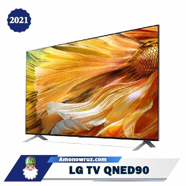 تلویزیون ال جی QNED90 مدل 2021