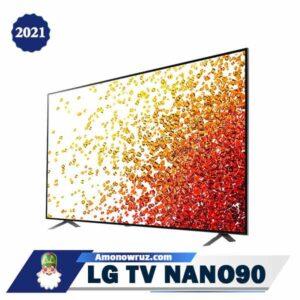 تلویزیون ال جی NANO90 متمایل