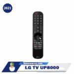 ریموت تلویزیون ال جی up8000