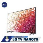 تلویزیون ال جی NANO75 از کنار
