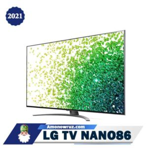 تلویزیون ال جی NANO86 از کنار