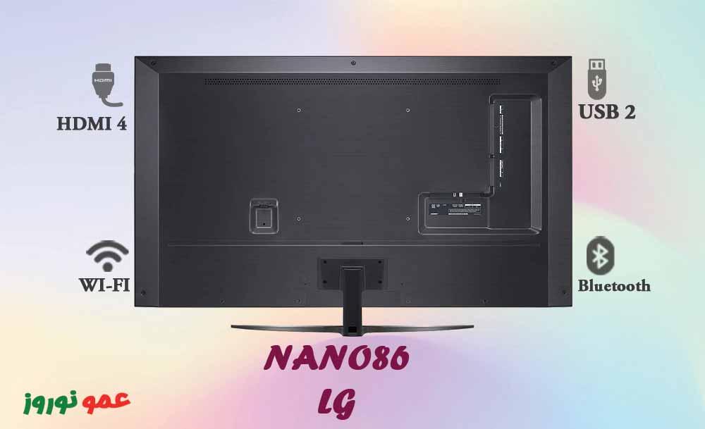 پورت های ارتباطی تلویزیون ال جی NANO86