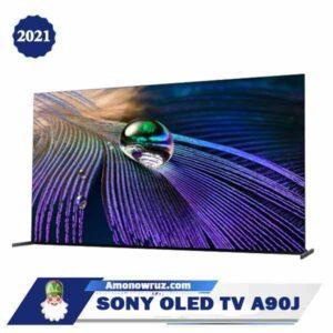 تلویزیون سونی A90J از کنار