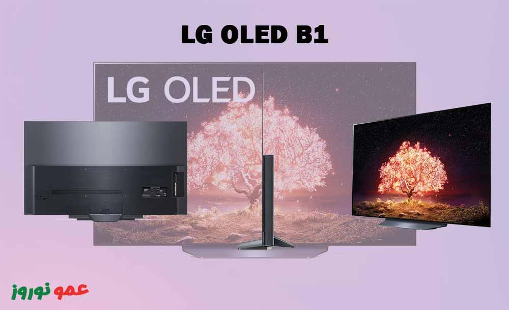 طراحی تلویزیون ال جی B1