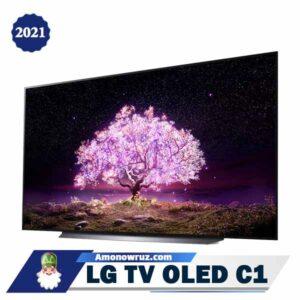 تلویزیون ال جی C1 از زاویه