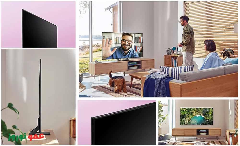 طراحی تلویزیون سامسونگ AU9000