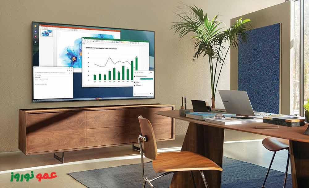 اتصال به PC تلویزیون سامسونگ AU9000
