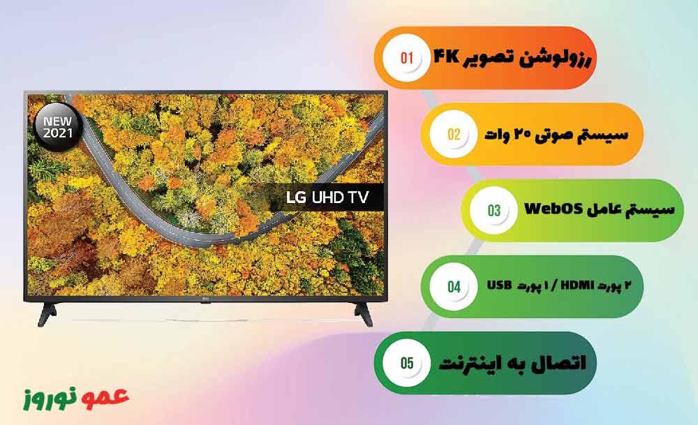 مزیت های تلویزیون 2021 ال جی