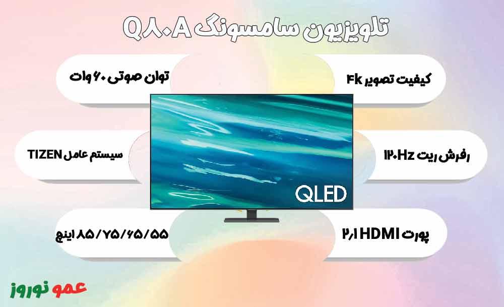 معرفی تلویزیون Q80A