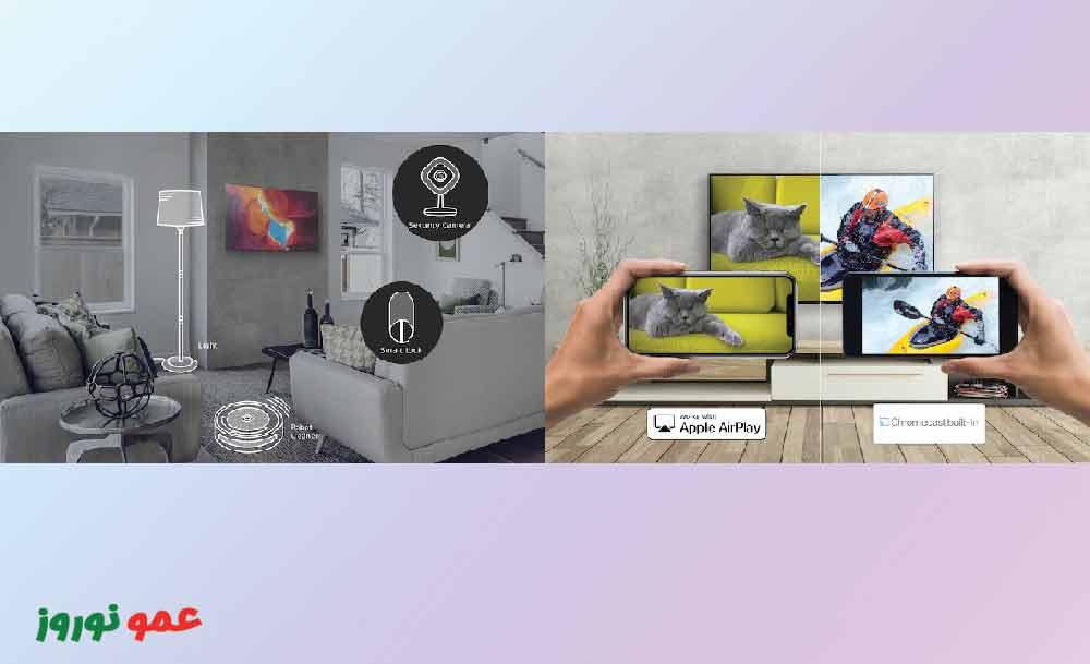 قابلیت های هوشمند تلویزیون سونی X94J