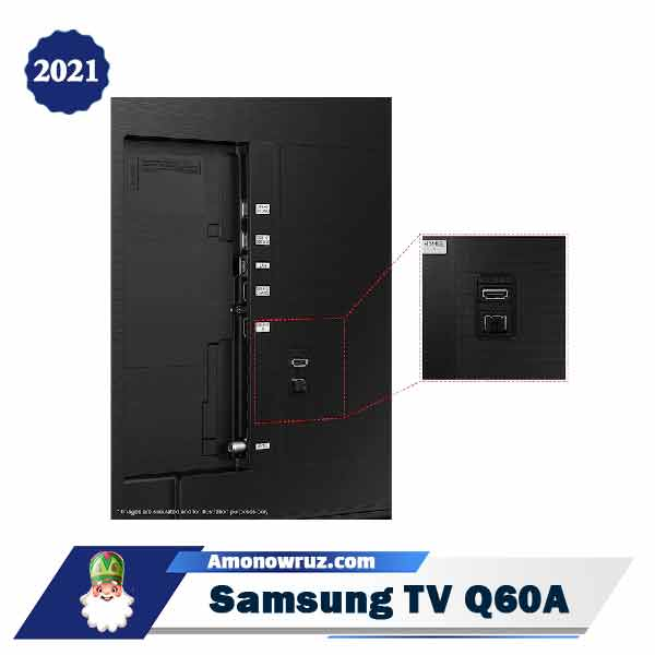 تلویزیون کیولد سامسونگ Q60A مدل 2021