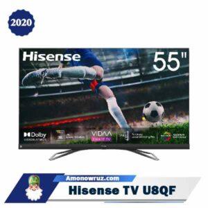 تصویر اصلی تلویزیون هایسنس u8qf