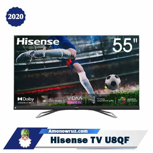 تلویزیون هایسنس U8QF مدل 2020