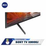 زاویه تلویزیون سونی X8000J