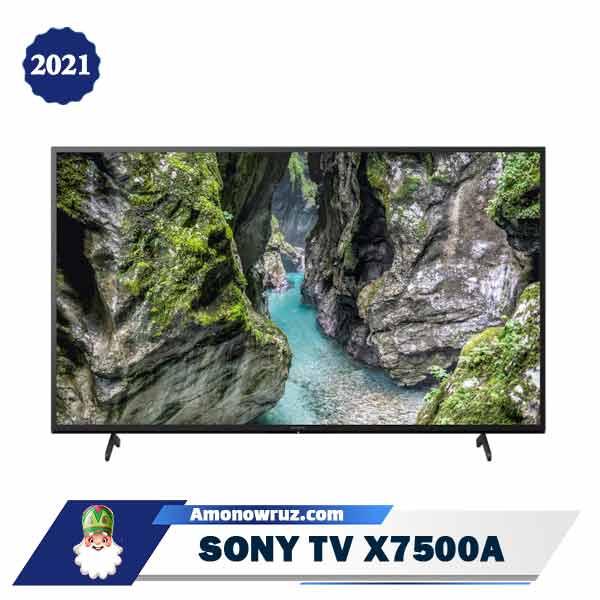 تلویزیون سونی X75A مدل X7500A 2021