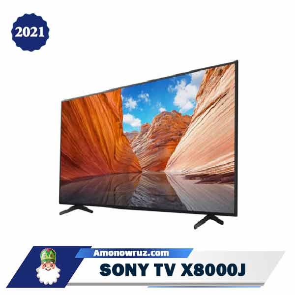 تلویزیون سونی X80J مدل 2021 X8000J
