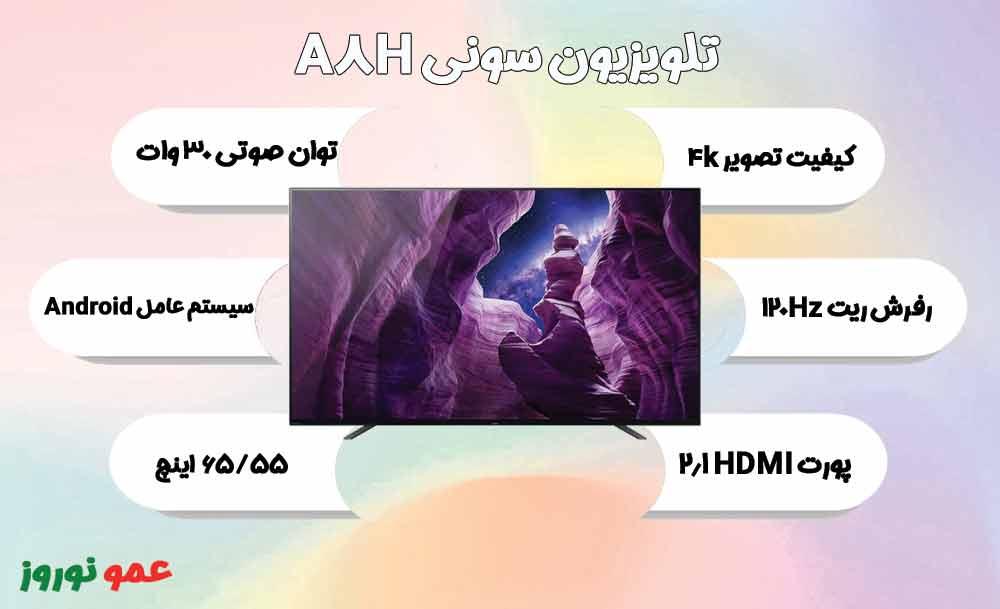 معرفی تلویزیون اولد سونی A8H