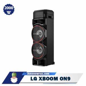 حاشیه سیستم صوتی ال جی ON9