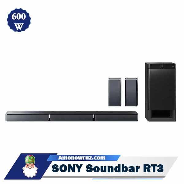 ساندبار سونی RT3 سیستم صوتی 600 وات HT-RT3