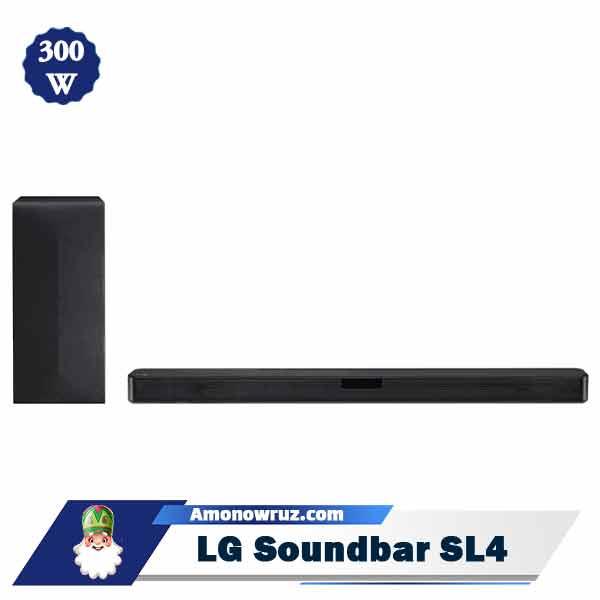 ساندبار ال جی SL4 سیستم صوتی 300 وات SL4
