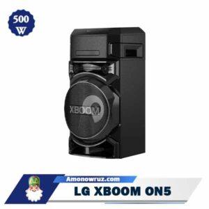 حاشیه سیستم صوتی ال جی ON5