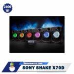 نورپردازی سیستم صوتی X70