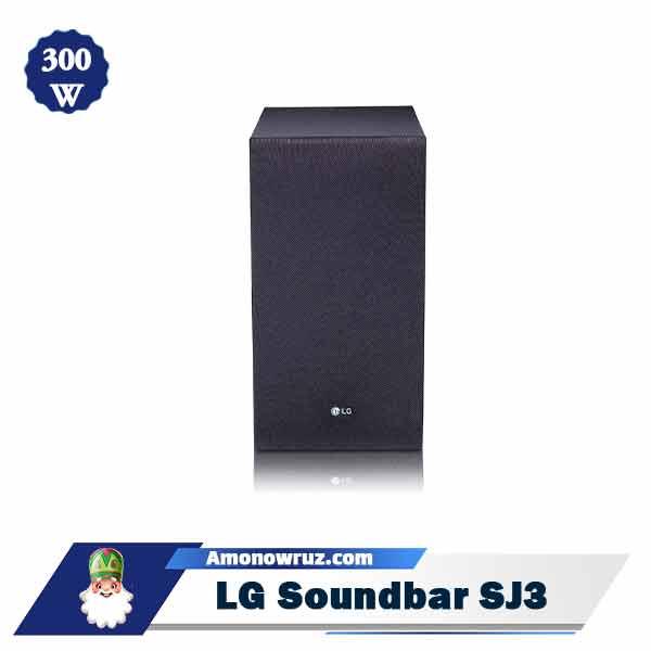 ساندبار ال جی SJ3 سیستم صوتی 300 وات SJ3
