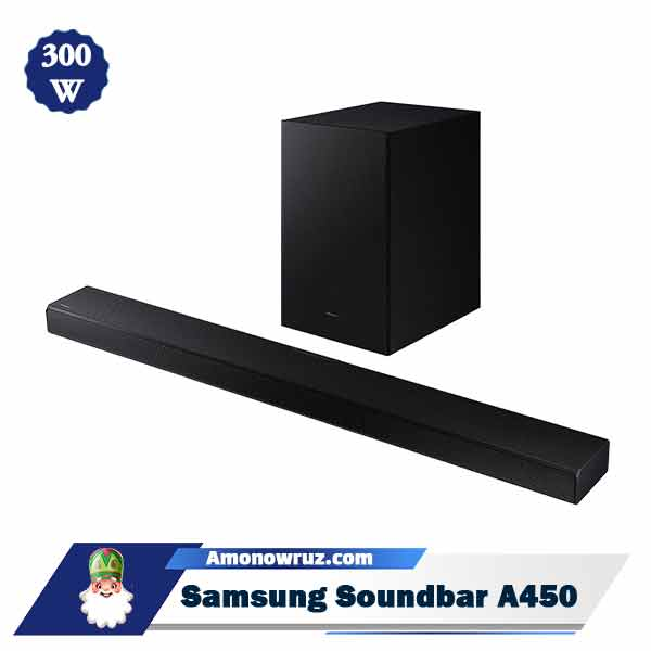 ساندبار سامسونگ A450 سیستم صوتی 300 وات A450