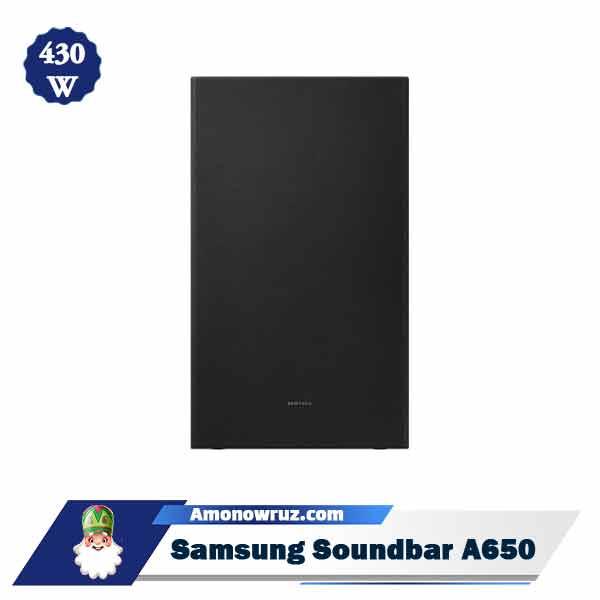 ساندبار سامسونگ A650 سیستم صوتی 430 وات A650