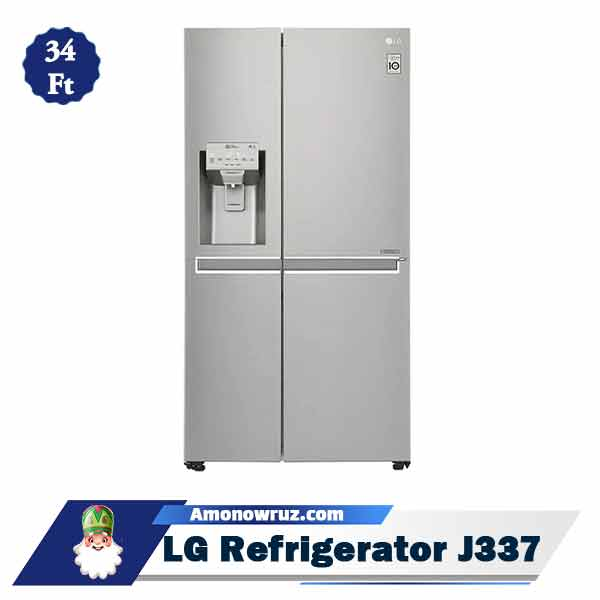 یخچال فریزر ال جی J337