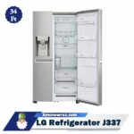 درب یخچال ال جی J337