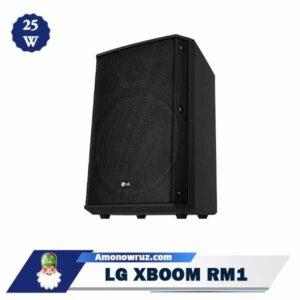 حاشیه سیستم صوتی ال جی RM1