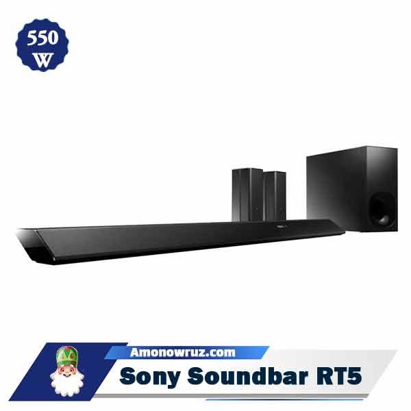 ساندبار سونی RT5 سیستم صوتی 550 وات RT5