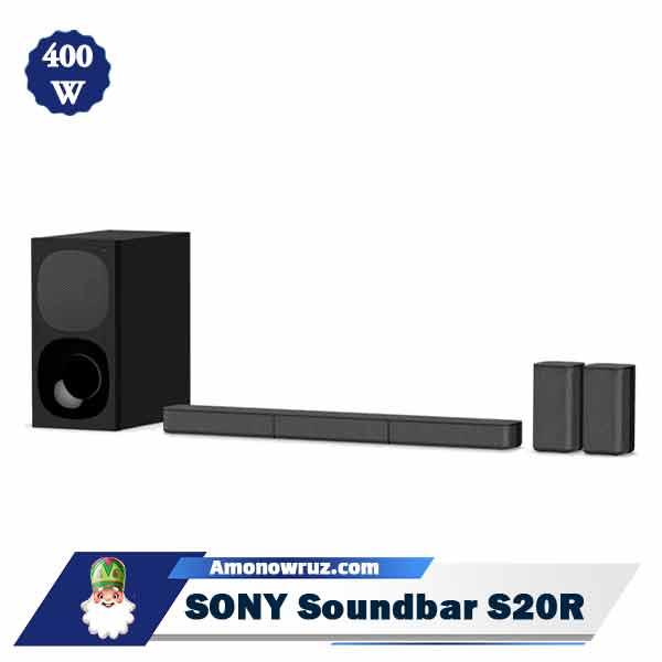 ساندبار سونی S20R سیستم صوتی 400 وات S20R