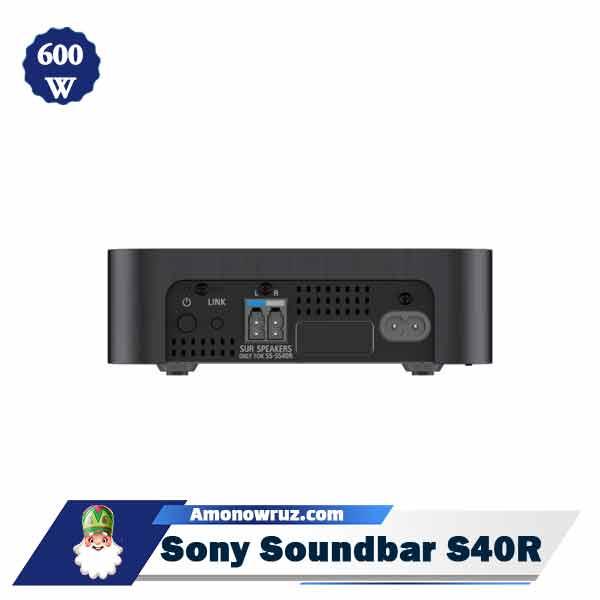 ساندبار سونی S40R سیستم صوتی 600 وات S40R