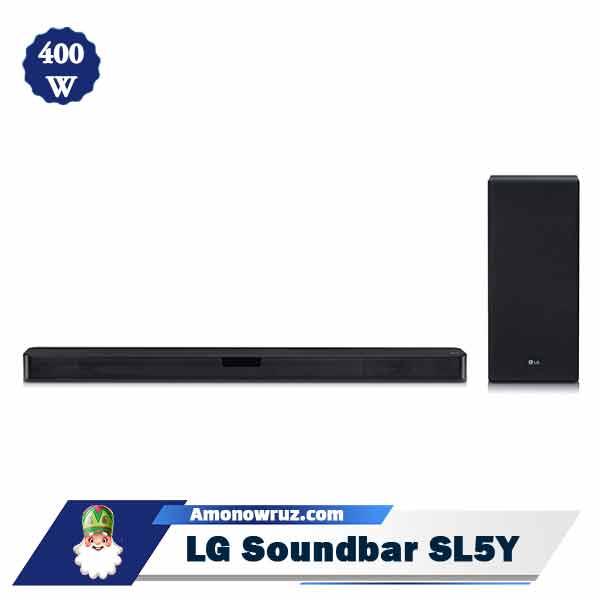 ساندبار ال جی SL5Y سیستم صوتی 400 وات SL5Y