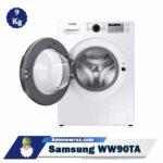 درب ماشین لباسشویی سامسونگ WW90TA