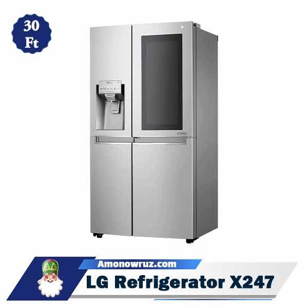 یخچال فریزر ال جی X247