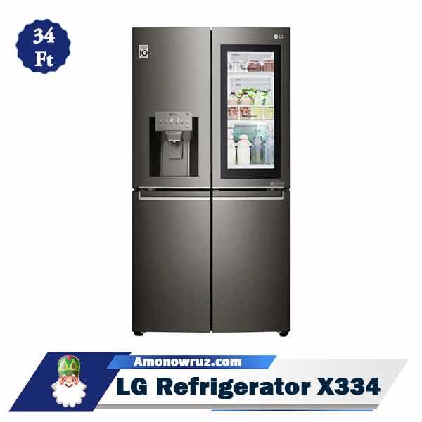 یخچال فریزر ال جی X334