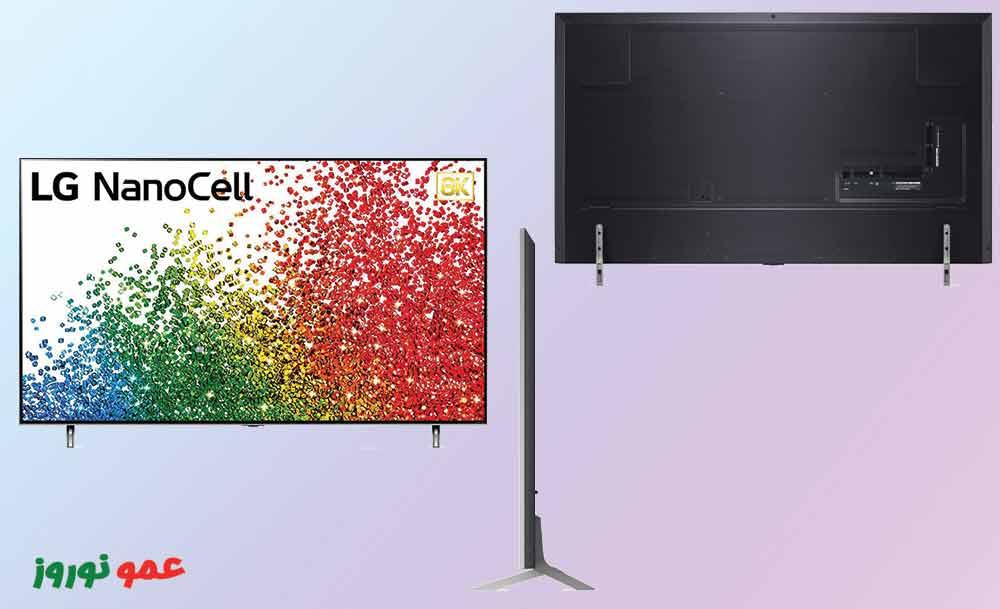 طراحی تلویزیون ال جی NANO99