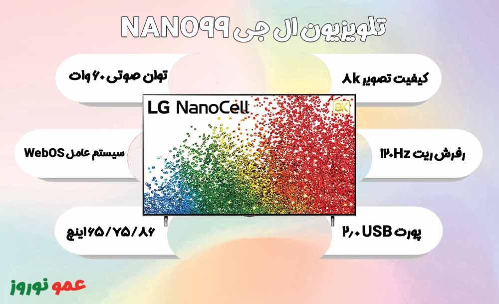 معرفی تلویزیون ال جی NANO99
