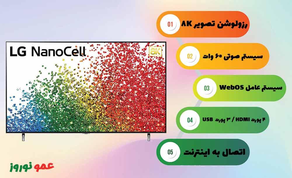 جمع بندی تلویزیون ال جی NANO99
