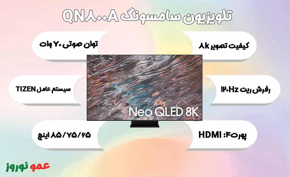 معرفی تلویزیون سامسونگ QN800A