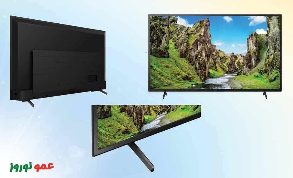 طراحی  تلویزیون سونی X75
