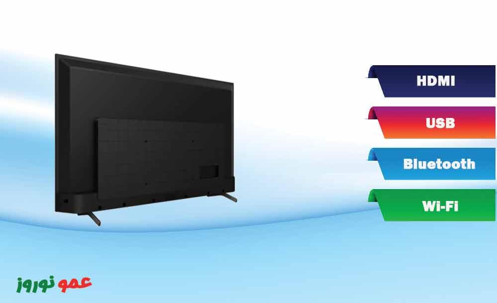 درگاه های  تلویزیون سونی X75