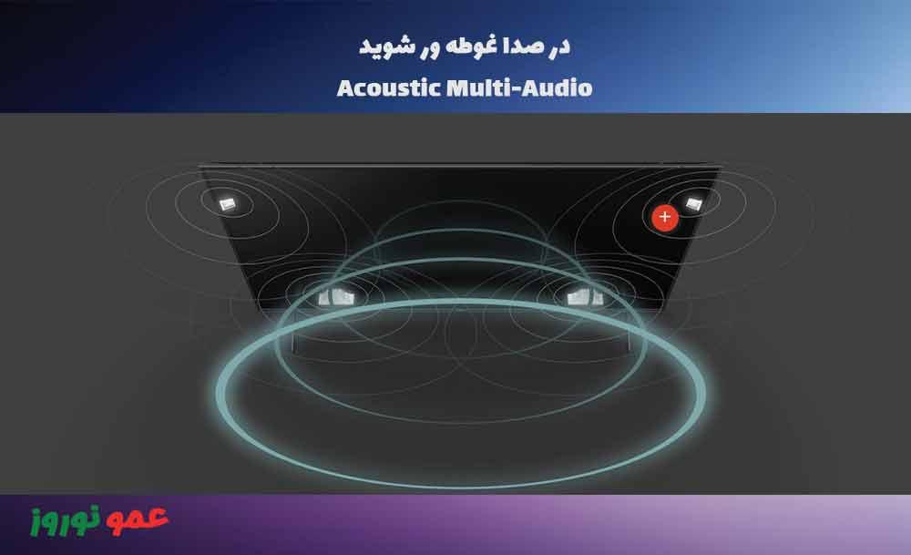 صدا در تلویزیون سونی X9000H