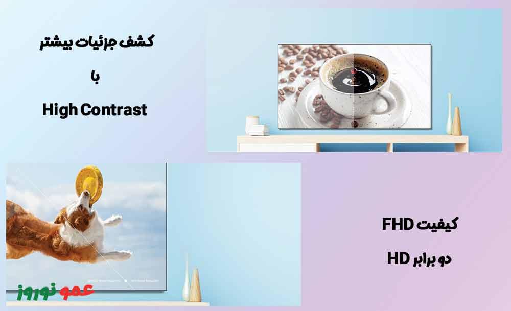 کیفیت تصویر در تلویزیون هایسنس A4G