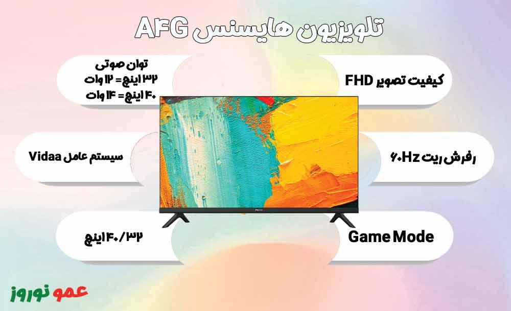 معرفی تلویزیون هایسنس A4G