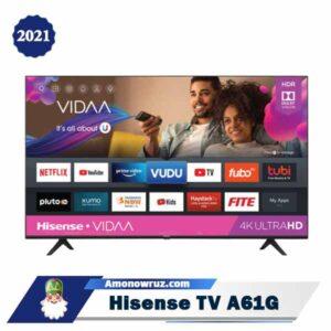 تصویر اصلی تلویزیون هایسنس A61G